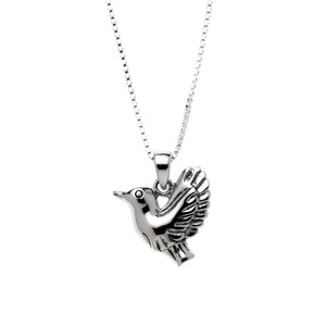 Alex's silver necklace that he is always found wearing.